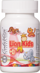 Lion Kids + vitamin D