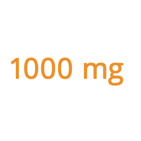 1000 mg of vitamin C