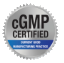 cGMP Certified logo