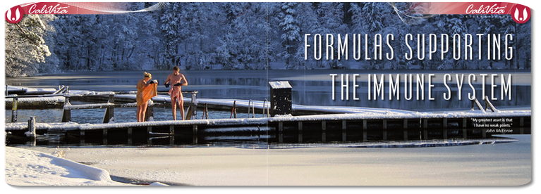 Formulas supporting the immune system