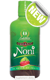 bottle of Organic noni