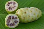 Noni fruit halves