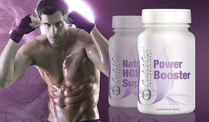 Natural HGH Support - Power Booster